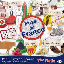 Pack « Pays de France première partie »