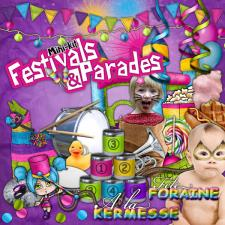 "Mini digital kit ""Festivals & Parades"""