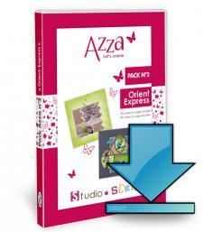 Pack Azza n°2 - Orient - Express - Scrapbooking en téléchargement
