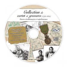 Collection de cartes et gravures - Guerres révolutionnaires et Napoléoniennes