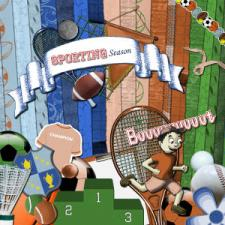 « Sporting Season » digital kit