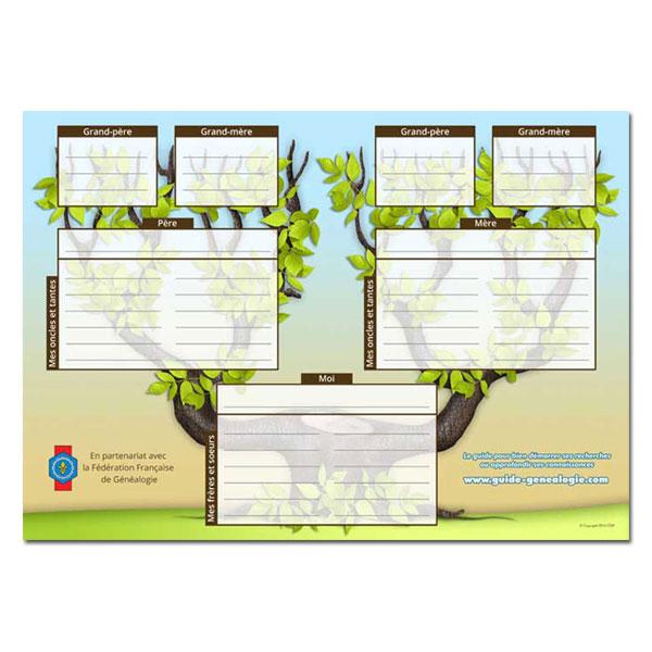 Logiciels de g n alogie cdip boutique logiciel de g n alogie et scrapbooking - Imprimer arbre genealogique ...