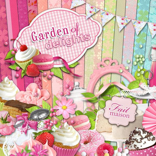 Digital kit garden of delights by download cdip for Au jardin des delices
