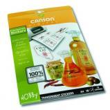 Canson® papier adhésif transparent - 10 feuilles