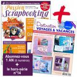 Abonnement 1 an au magazine Passion Scrapbooking + 1 Hors-série