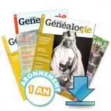 Abonnement au magazine « Votre Généalogie » en téléchargement
