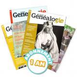 Abonnement au magazine « Votre Généalogie » par courrier