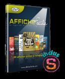 Logiciel Affiche-Facile en téléchargement (inclus Studio-Scrap 8 Classic)