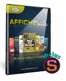 Affiche facile en coffret (inclus Studio-Scrap 8 Classic)