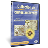 Collection de cartes anciennes en Coffret