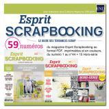 Esprit Scrapbooking : Les précédents numéros sur DVD