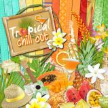 "Digital kit ""Tropical Chill out"" by download"