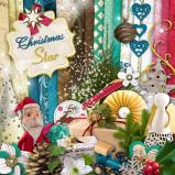 Digital kit « Christmas star » by download