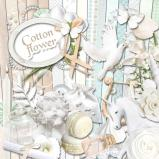 "Digital kit ""Cotton Flower""  by download"