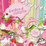 "Digital kit ""Garden of delights"" by download"