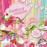 "Digital kit ""Garden of delights"" by download"