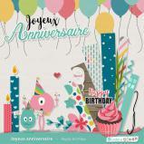 """Kit """"Joyeux anniversaire"""" en téléchargement"""