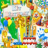"Digital kit ""Birthday"" by download"