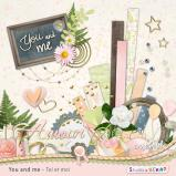 "Digital kit ""You and me"" by download"