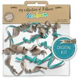 """Mini pack My collection of Ribbons """"Seafoam"""" by download"""