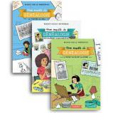 Lot de 3 romans pour enfants « Mon enquête de généalogie »