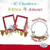 Pack Clusters « Amour et Fêtes » en téléchargement