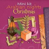 "Mini digital kit ""Arabian nights Christmas"" by download"