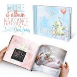 Mon album de naissance « Il était une fois... »  - 44 pages