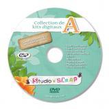 DVD de sauvegarde A pour les kits digitaux