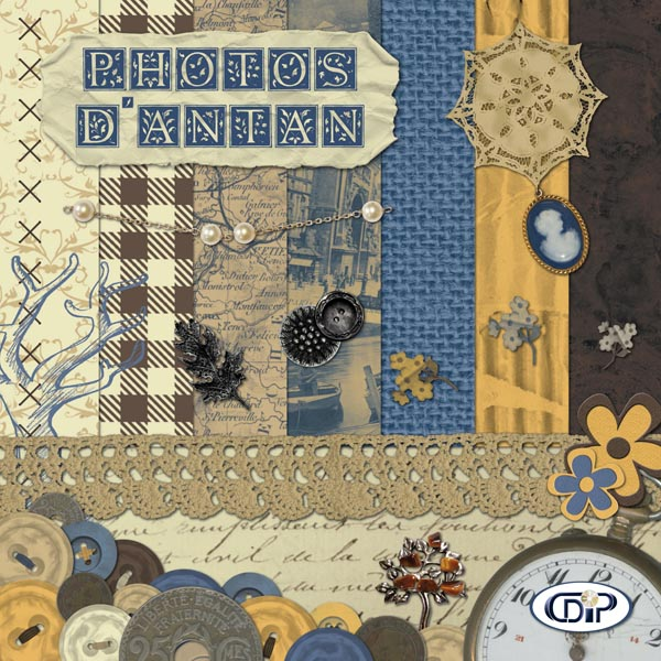 Kit « Photos d'antan » - 00 - Présentation