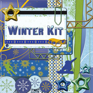 « Winter » digital kit - 00 - Presentation