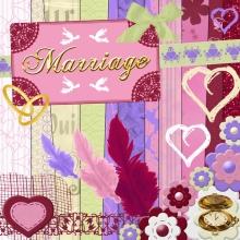 « Marriage » digital kit - 00 - Presentation
