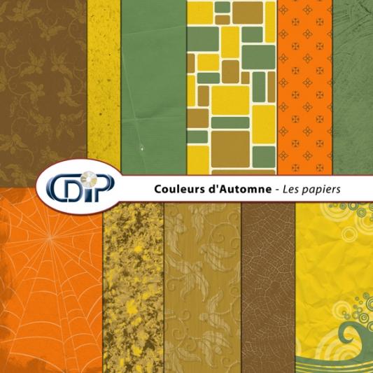 Kit « Couleurs d'automne » - 01 - Les textures