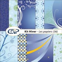 Kit « Hiver » - 01 - Les textures