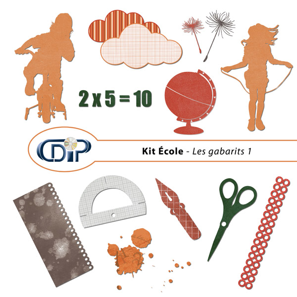 Kit « Ecole » - 05 - Les gabarits 1