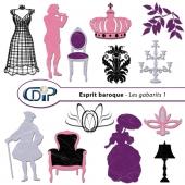 Kit « Esprit baroque » - 05 - Les gabarits 1