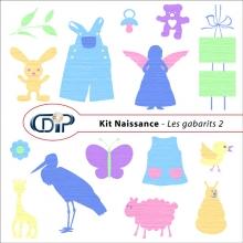 Kit « Naissance » - 06 - Les gabarits 2