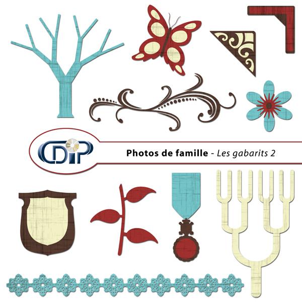 Kit « Photos de famille » - 06 - Les gabarits 2