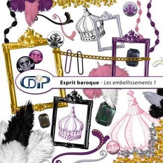 Kit « Esprit baroque » - 02 - Les embellissements 1