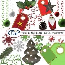 Kit « Fêtes de fin d'année » - 02 - Les embellissements 1