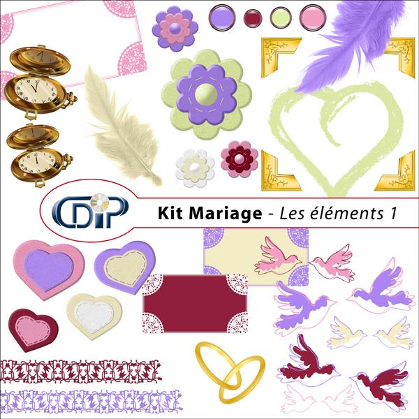 Kit « Mariage » - 02 - Les embellissements 1