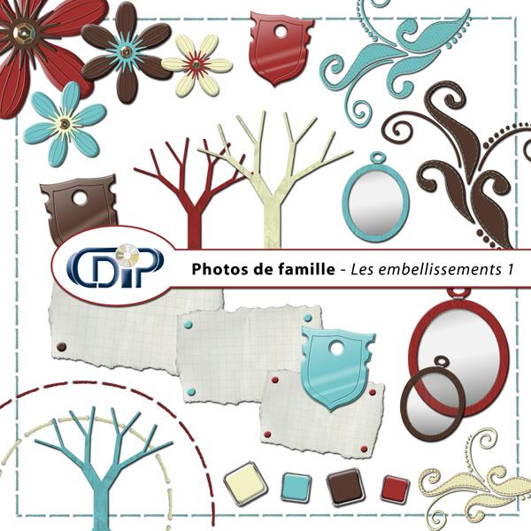 Kit « Photos de famille » - 02 - Les embellissements 1