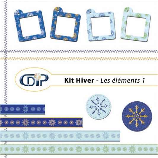 Kit « Hiver » - 04 - Les embellissements 3