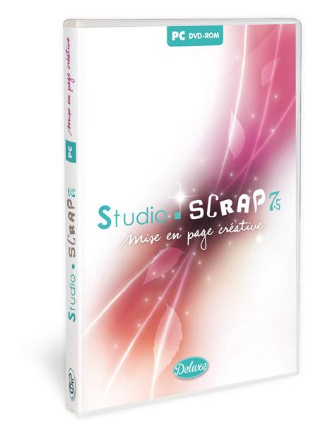 Studio-Scrap 7.5 Classique, logiciel de mise en page créative