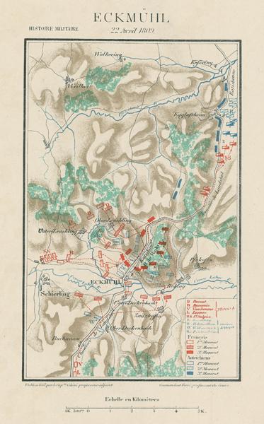 05-carte-militaire-1809-04-22-Eckmuhl