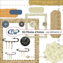 Kit « Photos d'antan » - 03 - Les embellissements 2