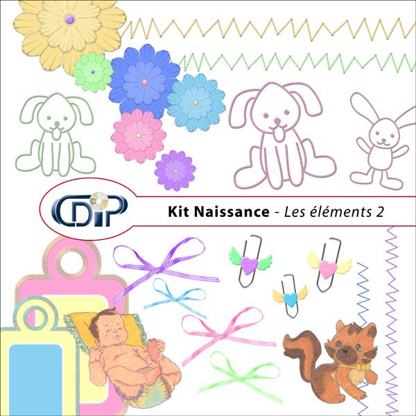 Kit « Naissance » - 03 - Les embellissements 2