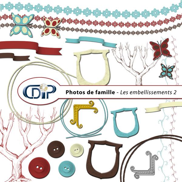 Kit « Photos de famille » - 03 - Les embellissements 2