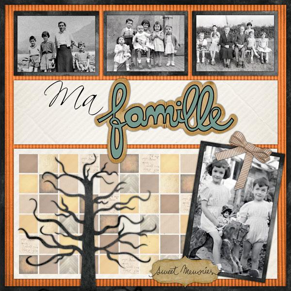 Bien connu Pack 50 arbres & portraits de famille + logiciel de montage photo  BU14