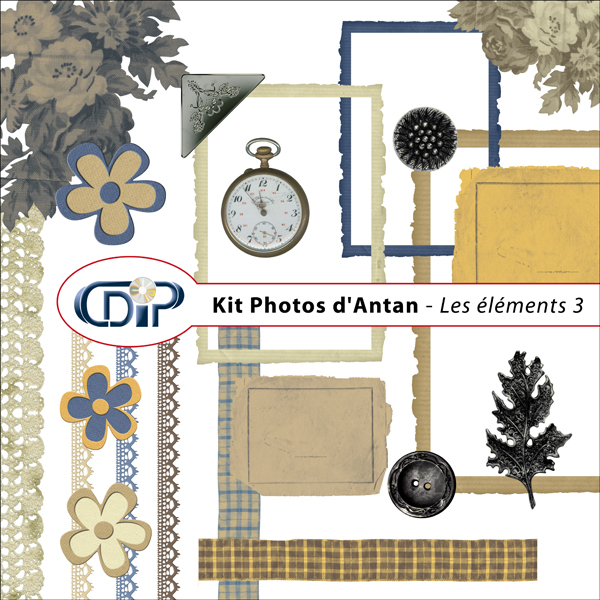 Kit « Photos d'antan » - 04 - Les embellissements 3